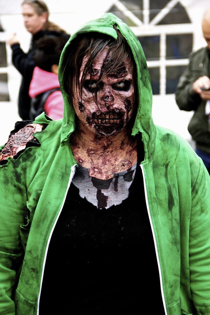 Resident Evil. Zombie Walk. Montreal. Photo Michael Bakouch.
