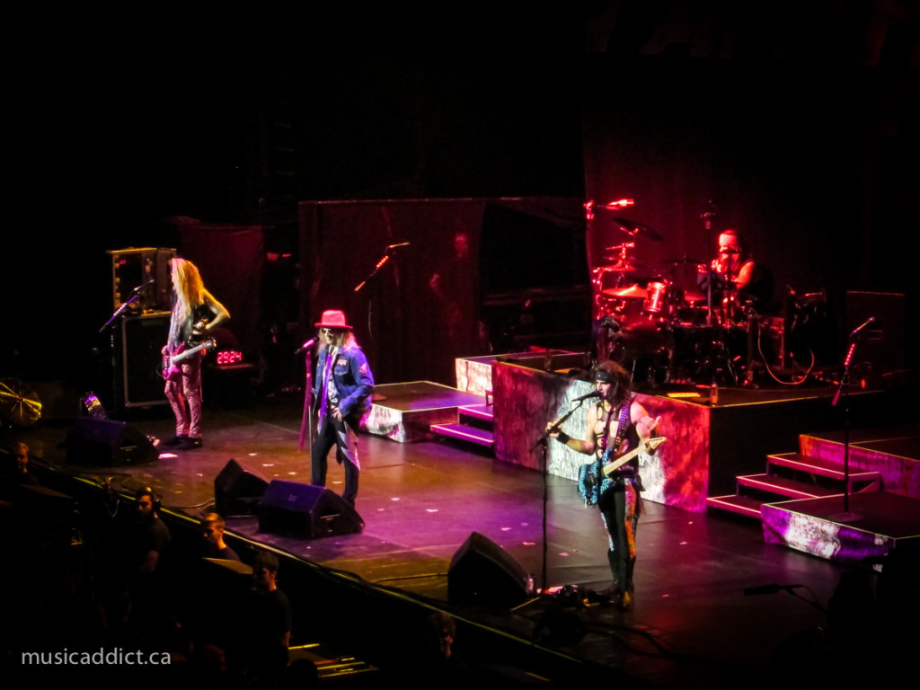 Steel Panther - Bell Centre October 6th 2014 Photo by Jean-Frederic Vachon