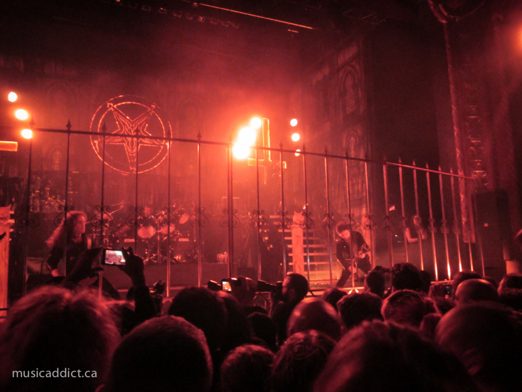 King Diamond October 17 2014. Photo by Jean-Frederic Vachon