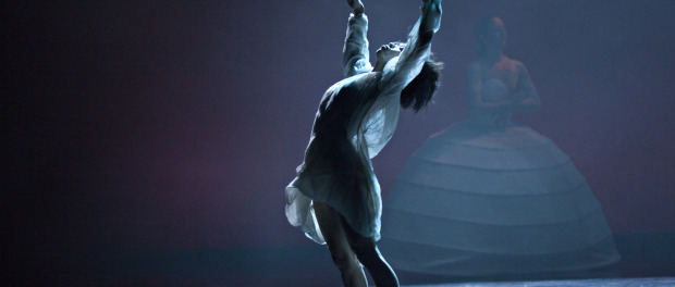 itmoi photo by j louis fernandez. dancers catherine schaub abkarian and ching ying chien,