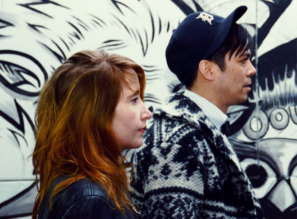 Sasha Kleinplatz and Andrew Tay