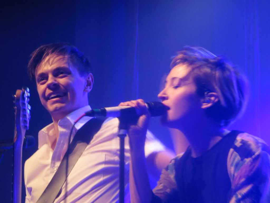July Talk. Club Soda. M for Montreal. Photo Rachel Levine