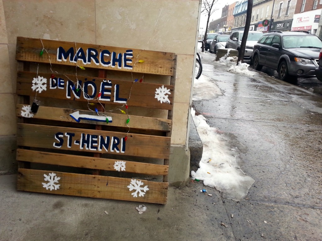 Marché du Noël St Henri. Photo by Annie Shreeve