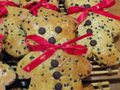 Chocolate Chip Teddy Bear Bread. Premiere MOisson. Photo Esther Szeben