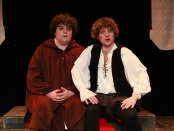 Friar Hubert and Hugh. No One LIkes Hugh. Photo Stephanie Weiner.