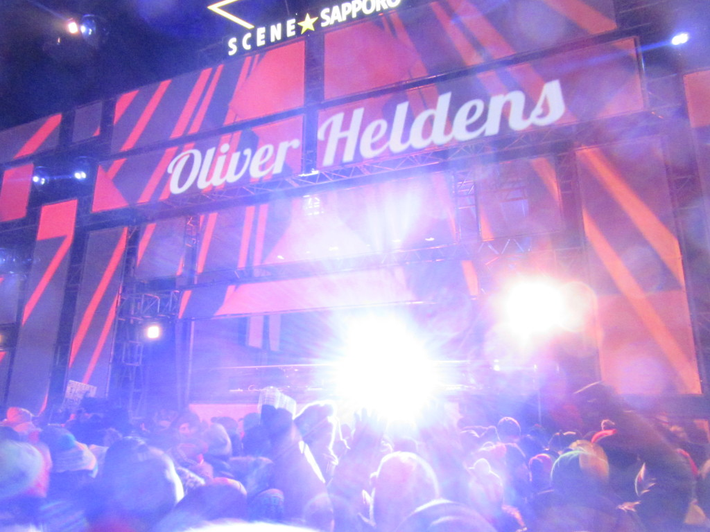 Oliver Heldens at Igloofest. Jan 25 2015. Photo by Robyn Homeniuk
