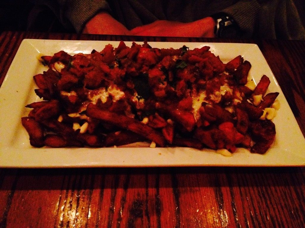 Burgundy Lion Poutine. Photo Cory McKay