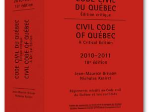 code civil du quebec