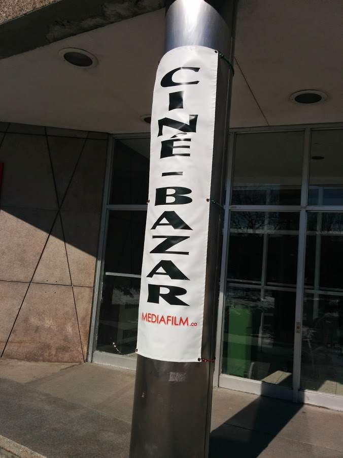 CinéBazar sign. Photo Sinj Karan.