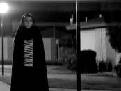 "Still of Sheila Vand in ""Poster for ""Still of Sheila Vand as the Girl in ""A Girl Walks Home Alone At Night""."