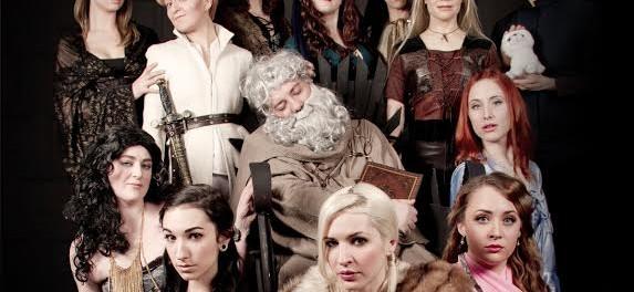 burlesque delrium. game of throne. winter is coming.