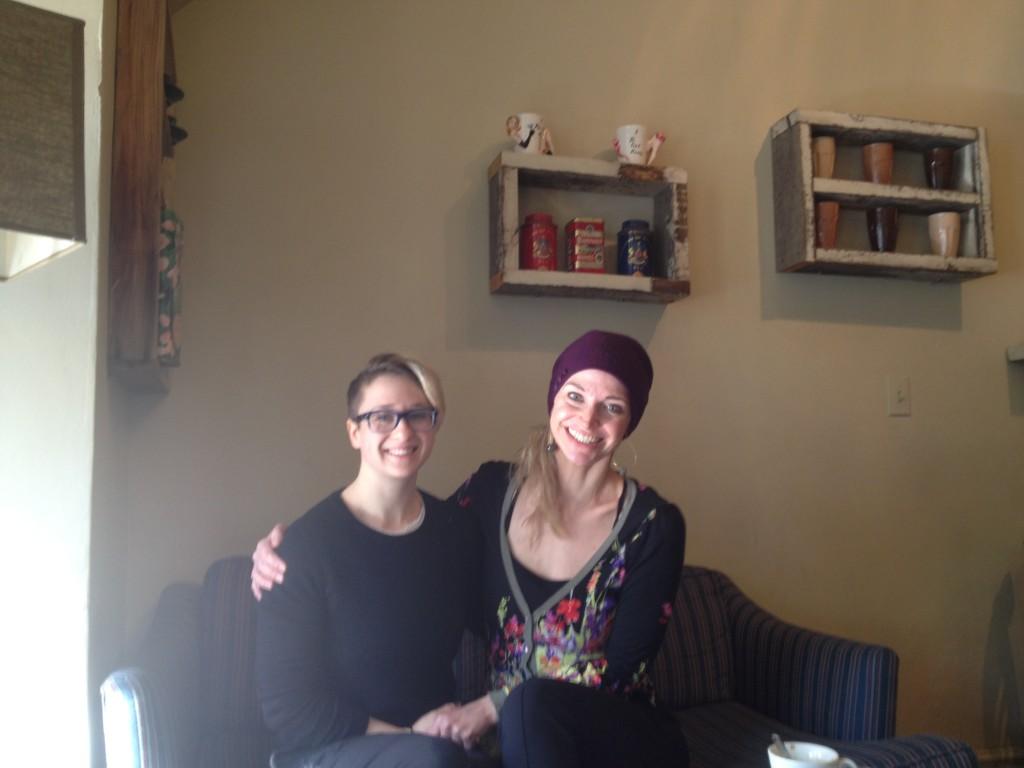 Sara Deull and Krin Haglund