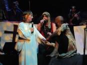 jesus christ superband. Sandi Armstrong. Warren Spicer, Christian Ngabonziza a.k.a NGÂBO. Photo Rachel Levine
