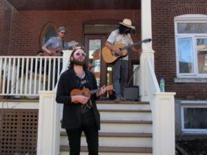 Po Lazarus. NDG Porch Fest. Photo Evelyn Richardson-Haughey