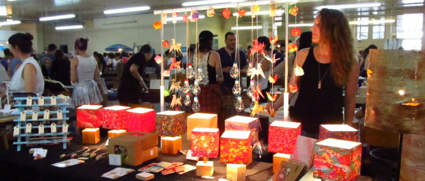Puces Pop Spring Fair. 2015. Evelyn Richardson-Haughey