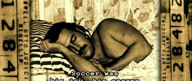 soccer was his joy. the two escobars.