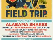 Field Trip Line Up 2015