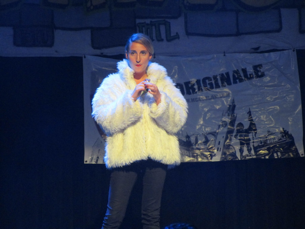 In Fur Wrapped. Montreal Fringe For All. Photo Rachel Levine