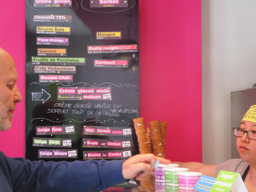 Kem Coba ice cream. Mile End. Photo Rachel Levine
