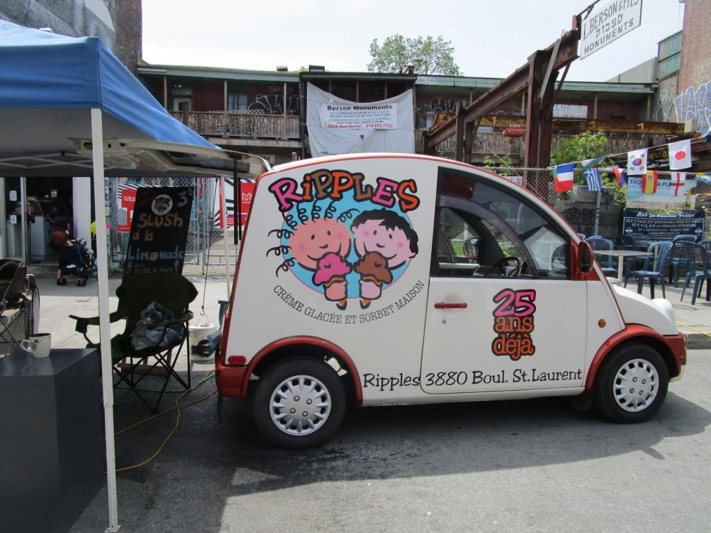 Ripples ice cream truck. Photo Rachel Levine