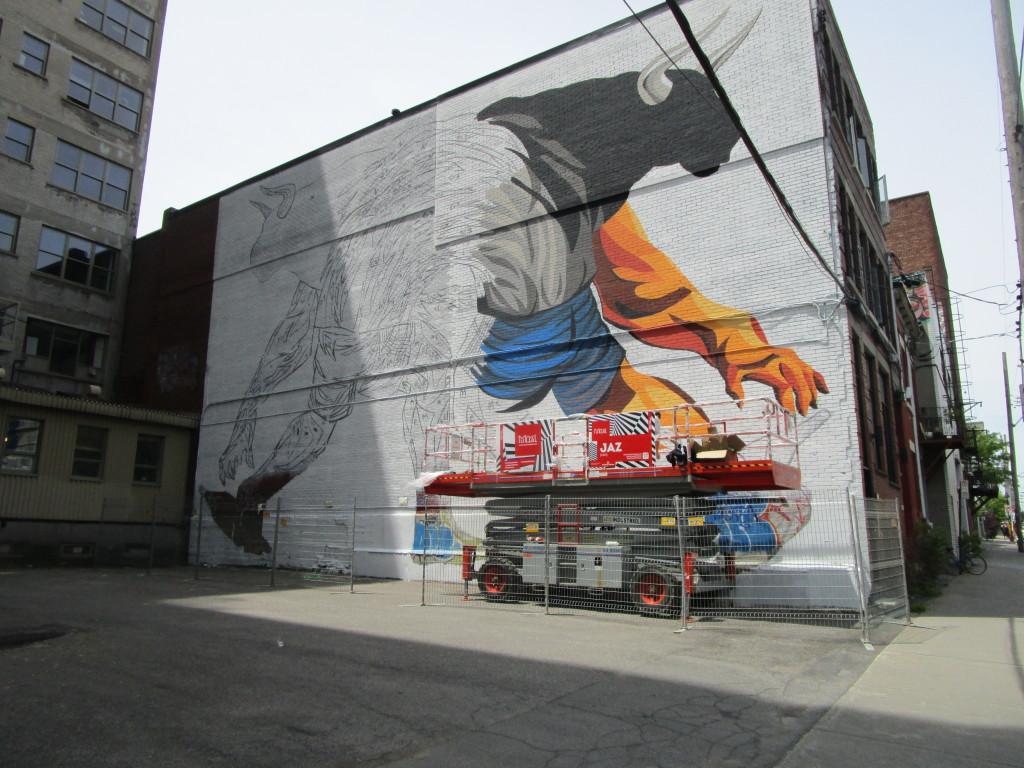 Jaz. Mural Festival 2015. Photo Rachel Levine