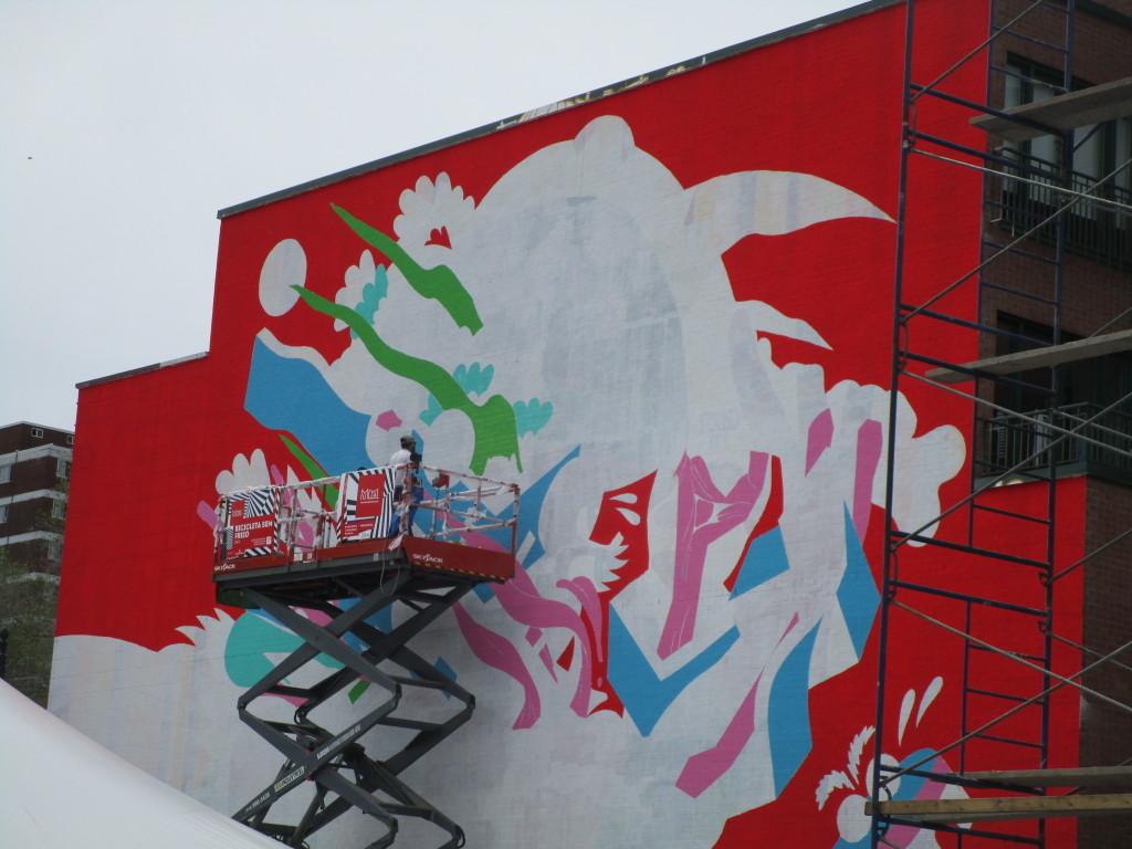 Mural Festival 2015. Photo Rachel Levine