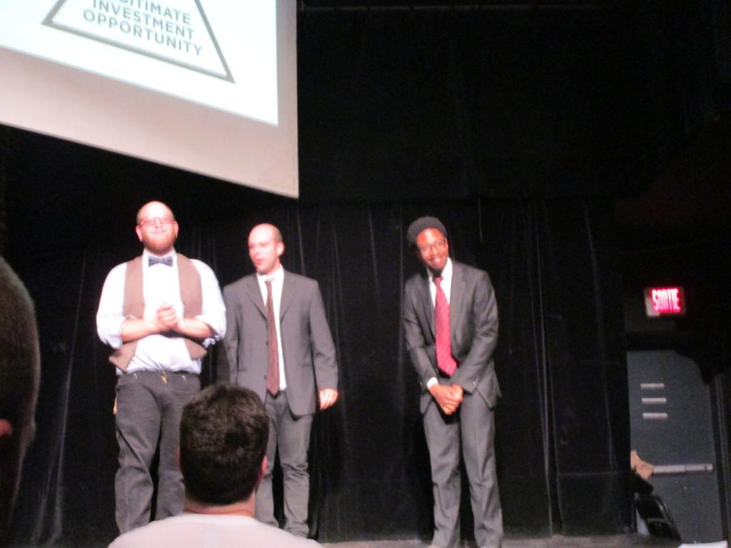 Legitimate Investment Opportunity. Fringe Festival 2015. Photo Rachel Levine