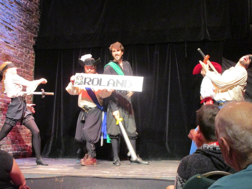 Swordplay A Play of Swords. Montreal Fringe Festival 2015. Photo Rachel Levine