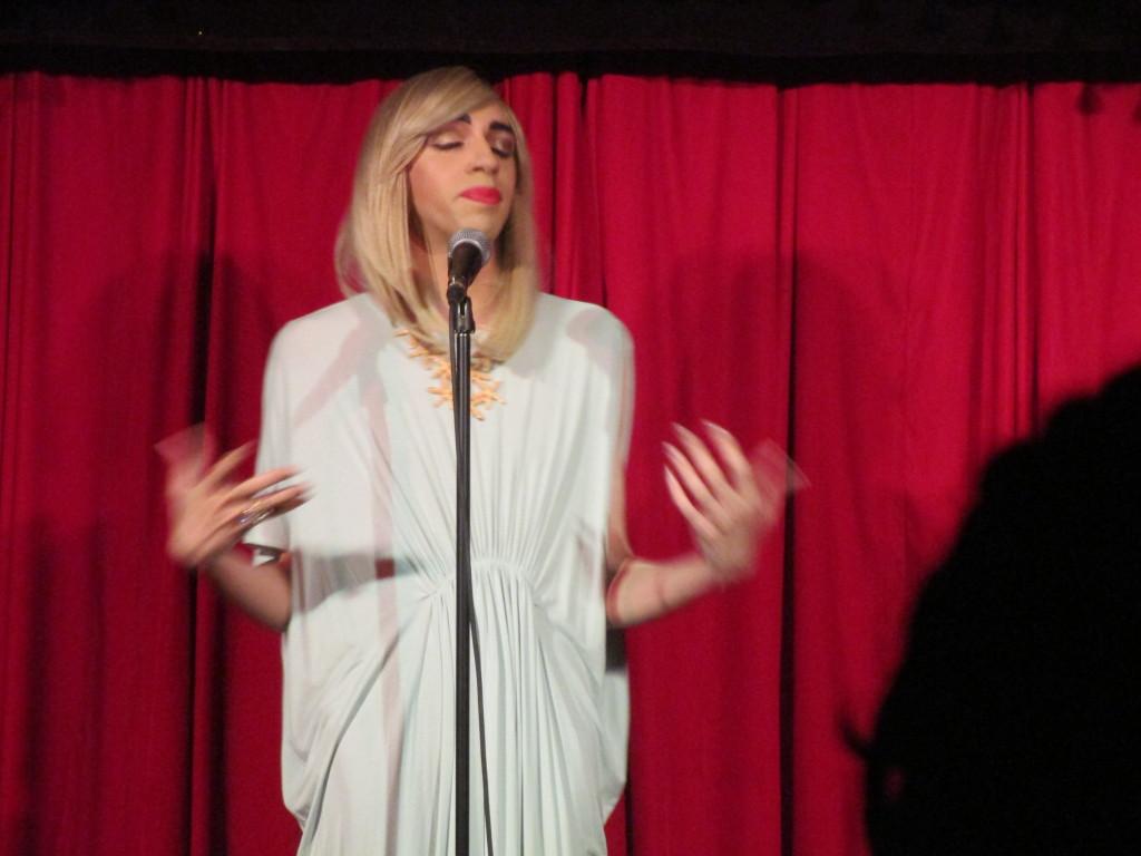 Tranna Wintour. Fringe Festival 2015. Photo Rachel Levine