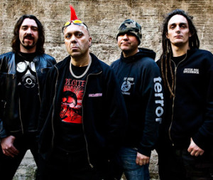 The Exploited Looking Tough