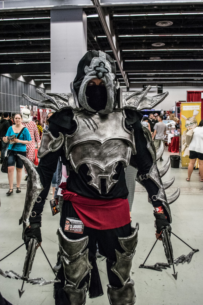 Comiccon. Photo Jean Frederic Vachon.