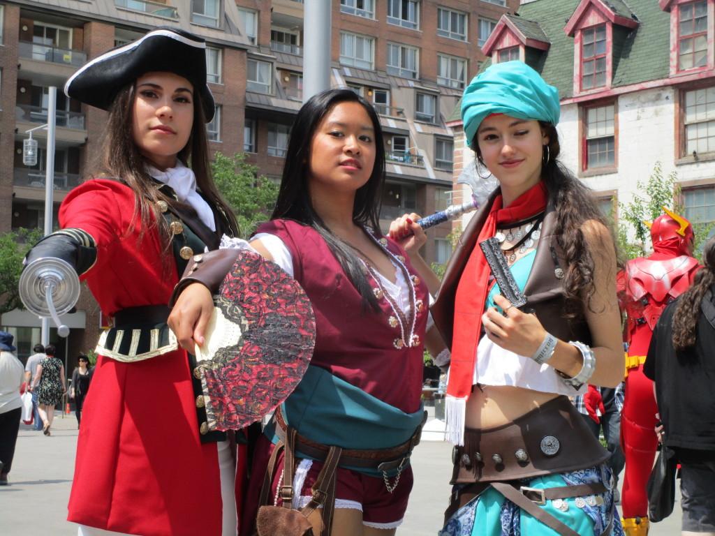 montreal comiccon 2015. Photo Rachel Levine