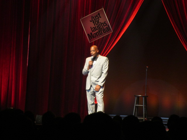 Alonzo Bodden. Just for Laughs Ethnic Show. Photo Rachel Levine