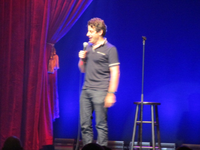 Dan Naturman. Just for Laughs Ethnic Show. Photo Rachel Levine