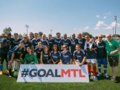 GOALMTL Media VIP team 2014 Photo courtesy of GOALMTL