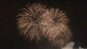 Fireworks in Montreal. USA. Photo Lydia Saad