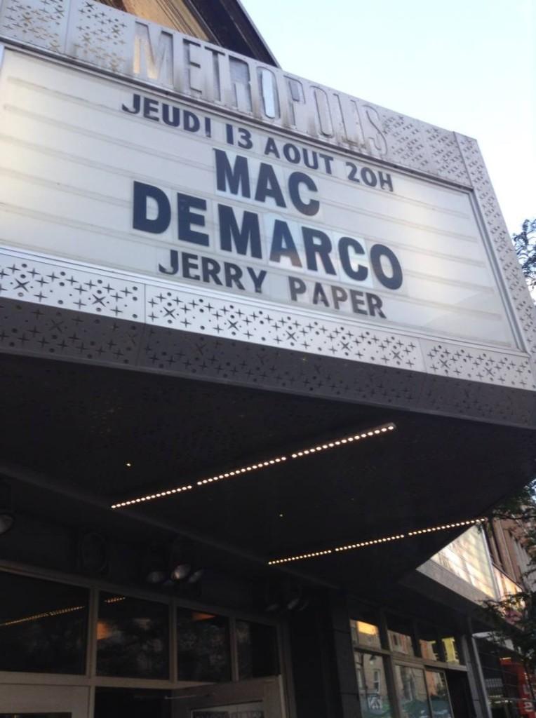 Mac Demarco. Metropolis 2015.