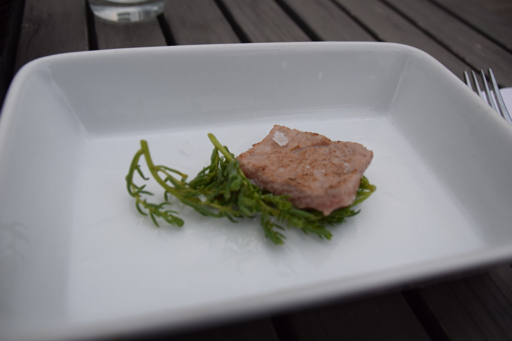 Amuse-bouche. Omnivore. PHoto Nicole Yeba.