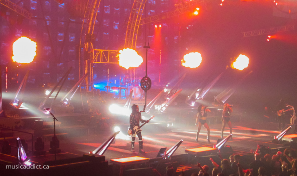 Mötley Crüe - August 24 2015 (photo by Jean-Frederic Vachon)