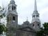 Église Sainte-Geneviève, located in the borough of L'Île-Bizard–Sainte-Geneviève. Photo credit: Bill Wrigley/Wikimedia Commons.