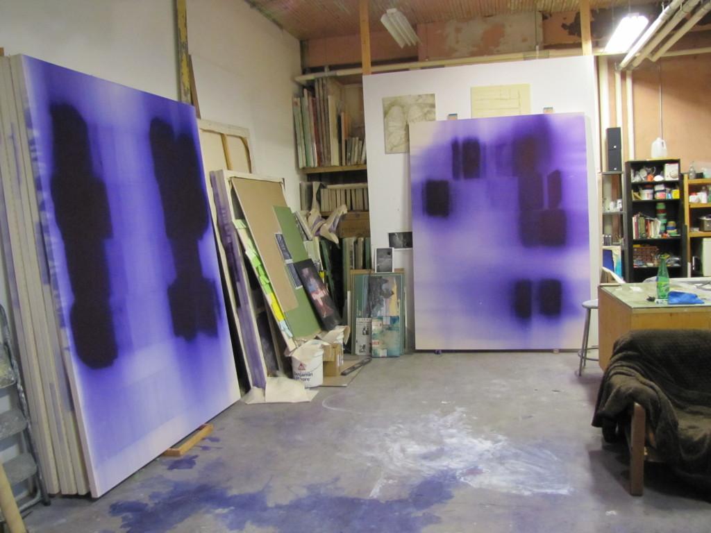Nicolas Lachance's studio. Darling Foundry 2015. Photo Kate Ellis.