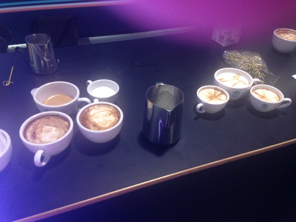 Natrel. Art Latte Challenge. Photo Paulette Hall.