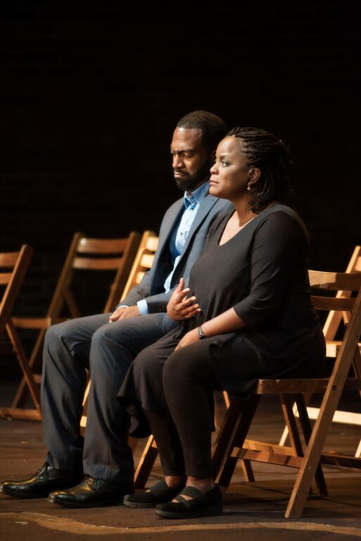 Lucinda Davis and Quincy Armorer. Adventures of a Black Girl in Search of God. Photo Andrée Lanthier