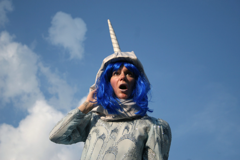 Ladyfest. Lise Vigneault as Narwhal