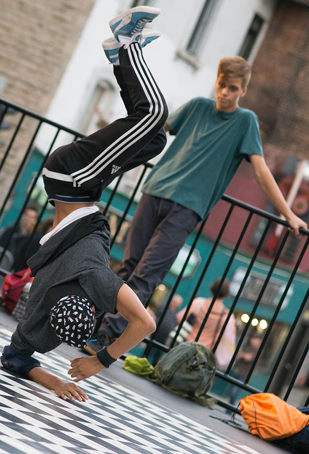 breakdancing. OUMF. Photo Dylan Thompson.
