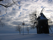 Pointe-Claire's windmill, one of eighteen surviving windmills in Quebec. Photo credit: indiewench/Flickr