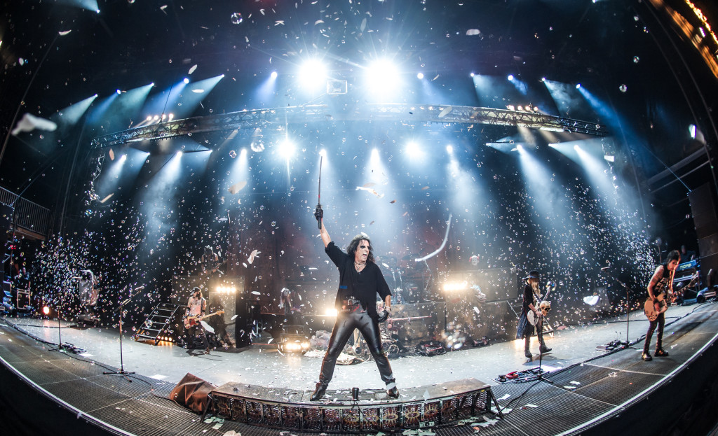 Alice Cooper in Wacken 3D. Dir. Norbert Heitker. Photo courtesy of Raven Banner.