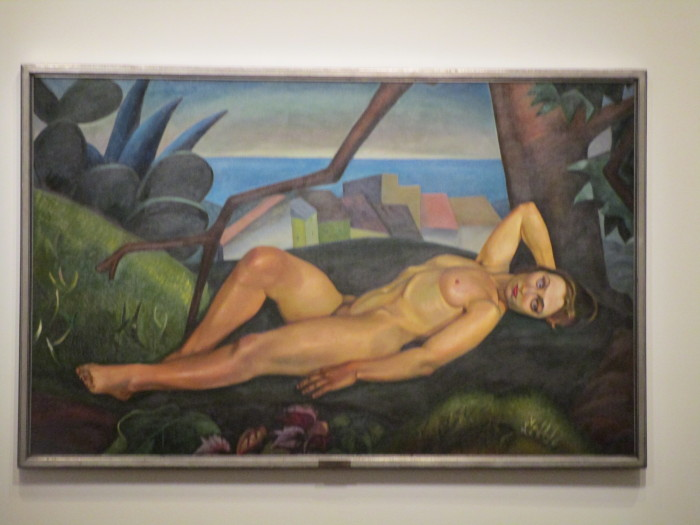Prudence Heward, Girl under a Tree, 1931, oil on canvas. Art Gallery of Hamilton. Gift of the artist's family. Beaver Hall Group. Photo Rachel Levine