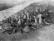 Manhattan, New York, c. 1930. Photo credit: US National Archives/Wikimedia Commons.