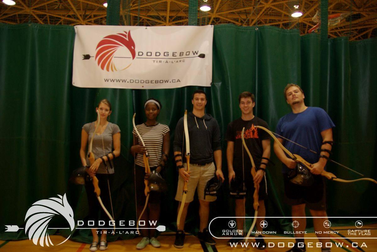 Nicole Yeba's team. DodgeBow.